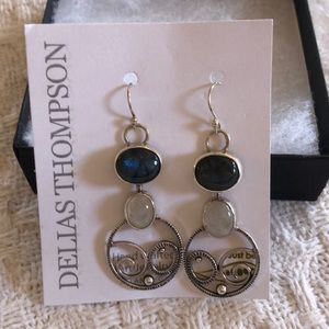 Labordite ring and earring set.  Never worn
